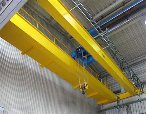 10 ton double girder overhead crane