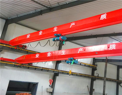 3 ton overhead crane can be supplied.