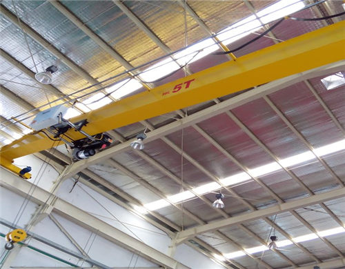5 ton single girder overhead travelling crane for sale