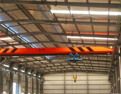 AQ-LD single girder overhead beam crane for sale