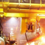 YZ 100 ton foundry crane for sale