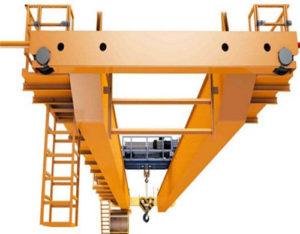 double girder 50 ton overhead crane for sale