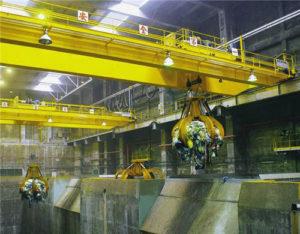 double girder grab crane for sale