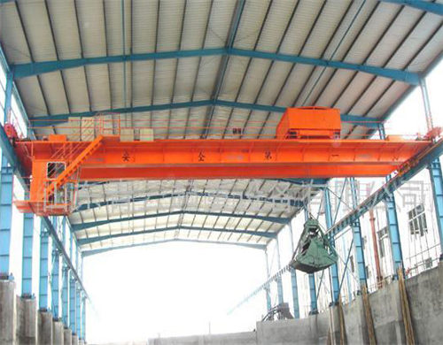 explosion proof grab crane