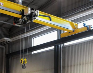 industrial overhead crane in single girder