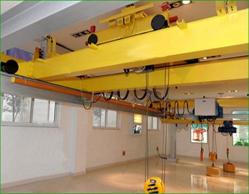 material handling overhead crane in double girder