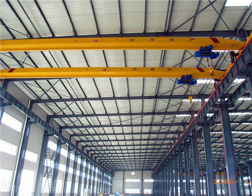 single girder material handling overhead crane for sale