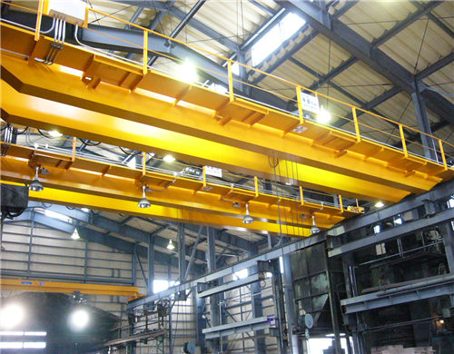 warehouse overhead crane in double girder for sale