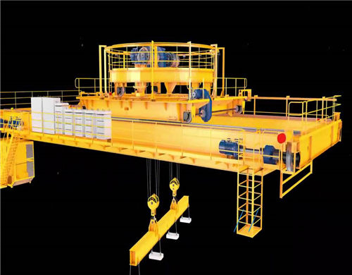 Weihua magnetic overhead crane for sale