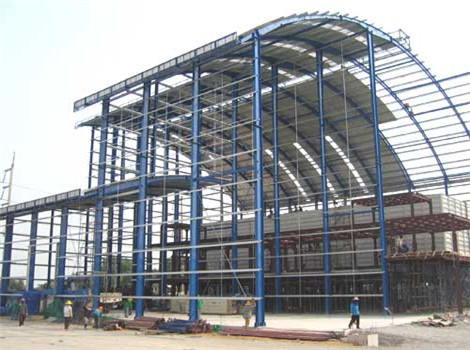 heavy steel structure in good quality
