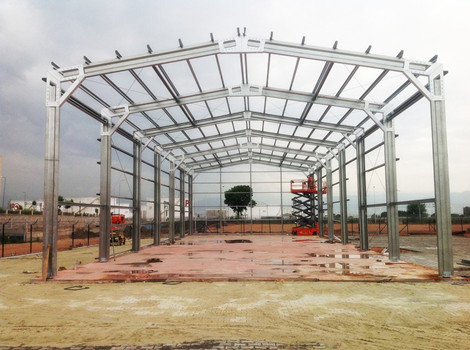 steel structure workshop design