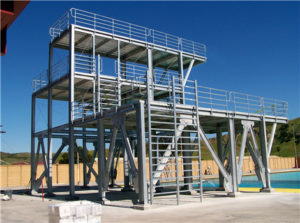 Custom steel structure for customers
