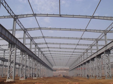 light weight steel structure can be supplied in our group.