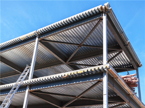 Modern steel structures are supplied.