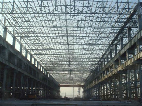 Reliable space steel structures for sale
