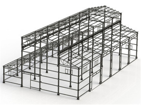 Industrial Steel Structure design for customers