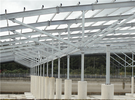 Reliable industrial steel structures are supplied.