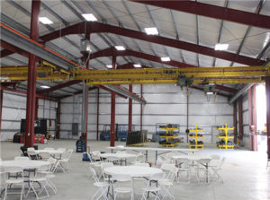 industrial steel structure is prepared for customers