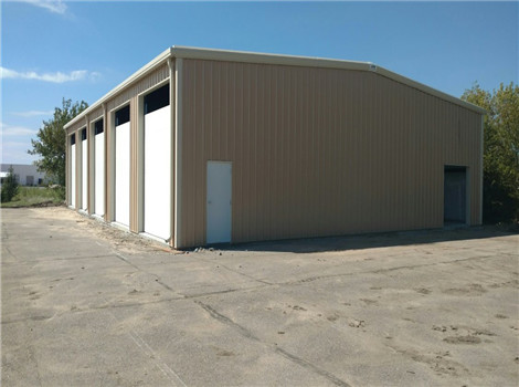 Steel building structures are supplied in our group.