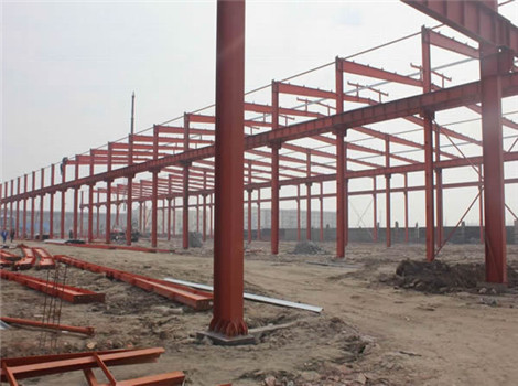 reliable hanger steel steel structure for sale