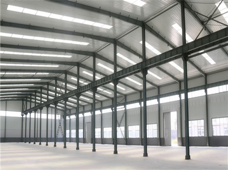 hanger steel structure for sale