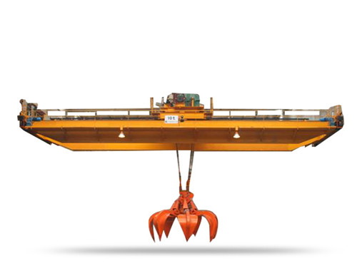 double girder bridge crane for grabbing with the best price.