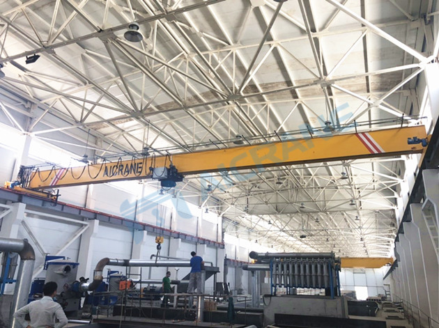 10ton single girder crane