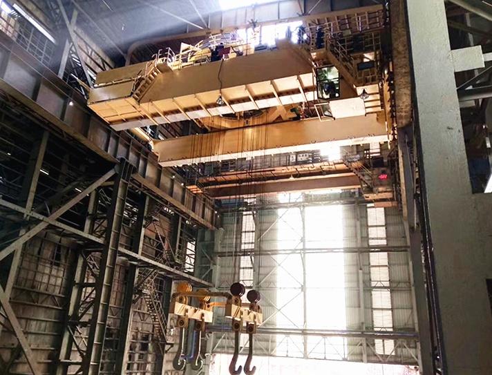 YZ125 ton foundry crane