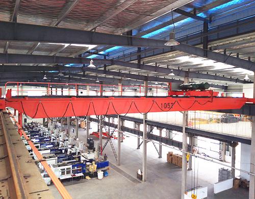 AQ-LH 10 ton overhead crane for sale