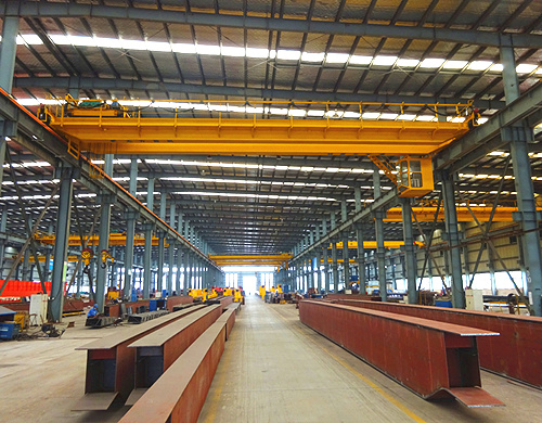 AQ-QD double girder indoor crane
