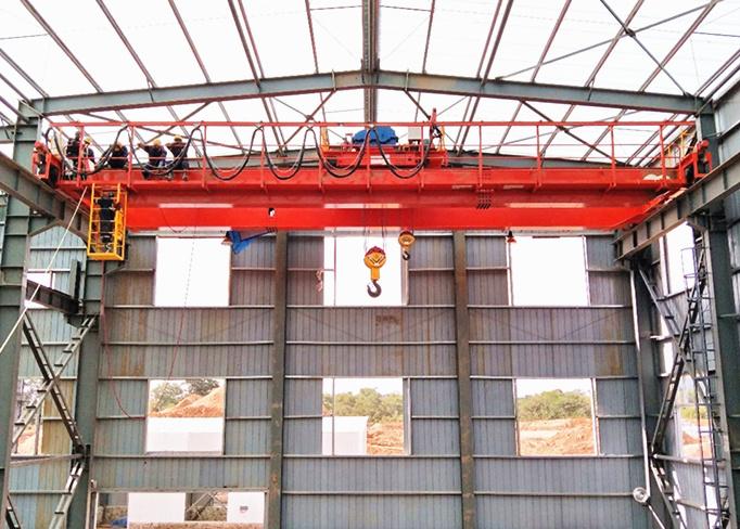 industrial overhead crane in double girder for sale