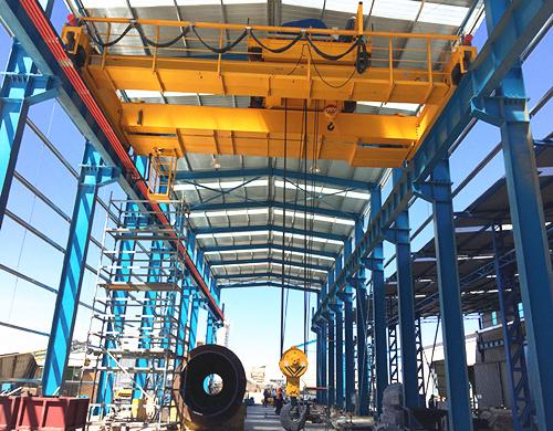 AQ-QD50T double girder crane