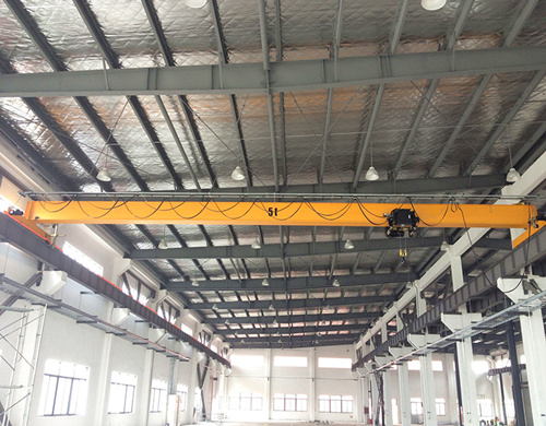European type single girder crane for sale
