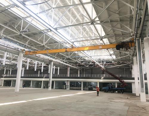 Europrean standard underslung crane