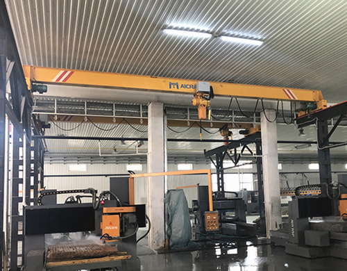 single girder indoor crane with high working efficiency,
