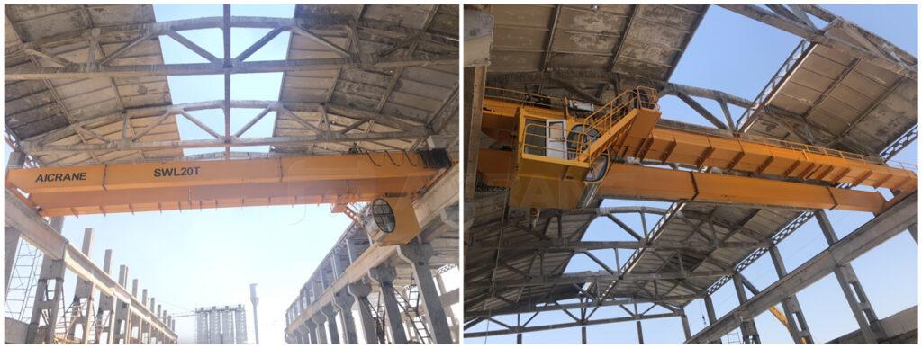 20ton overhead crane for sale