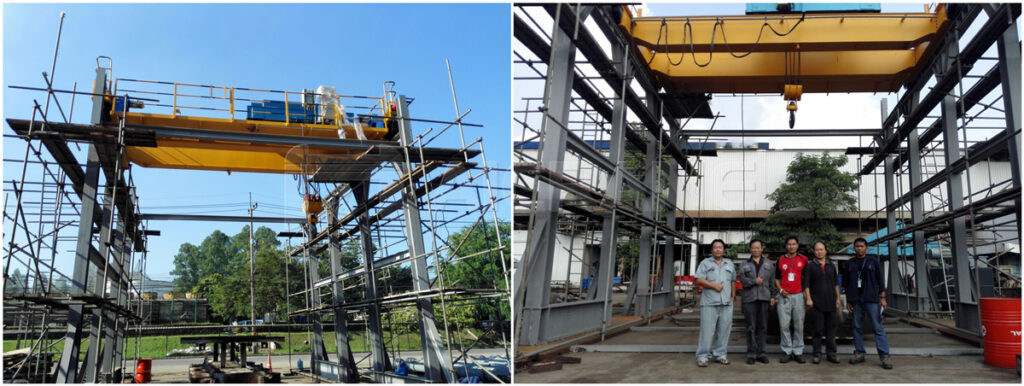crane steel structures for sale